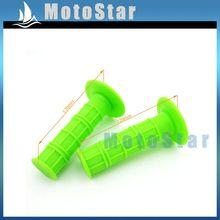 Buy Throttle Green Handle Grips Pit Dirt Motor Trail Bike Motorcycle Motocross XR CRF KLX SSR Thumpstar BBR Lifan YX for $4.99 in AliExpress store