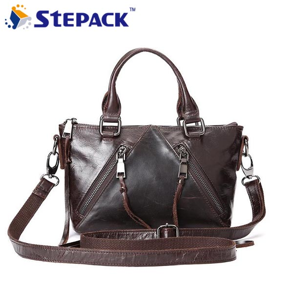 New LEATHER LAPTOP TROLLEY  WHEELED BUSINESS BAG  WOMENS BUSINESS BAGS