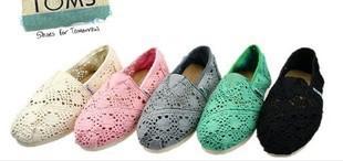 Classique mondiale vente crochet chaussures toile chaussures femmes casual chaussures chaussures de toile de dames(China (Mainland))
