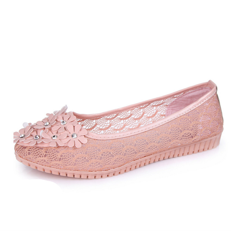 Fashion Summer Lace Hollow Crochet Women Slip-on Casual Flat Lady's Canvas Leisure Shoes(China (Mainland))
