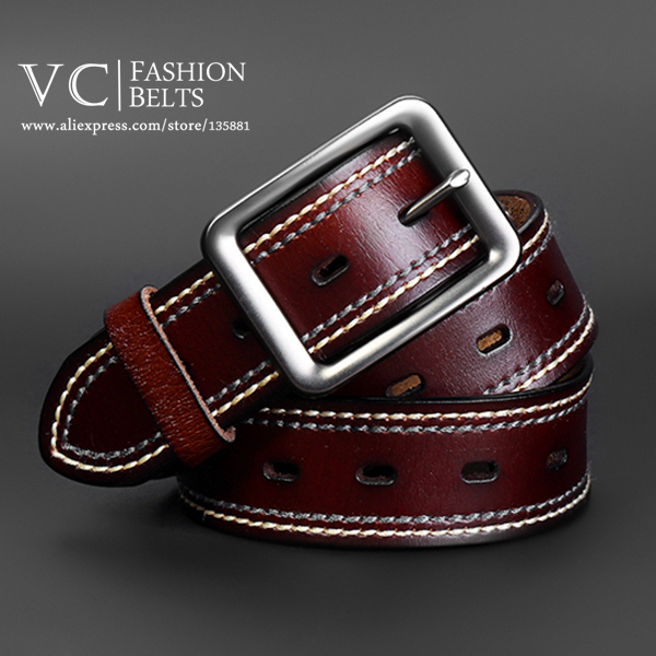 belt for men designer 5j3k  4 Colors Designer Belts Men Pin Buckle Genuine Leather Belt VI-246 VC
