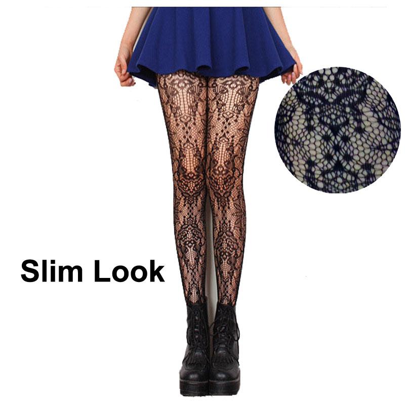 Black Color Woman Fishnet Pantihose Women Nylon Tights with Pattern Lady Fashion Design Mesh Panty-hose Thinning Hose PT003-28(China (Mainland))