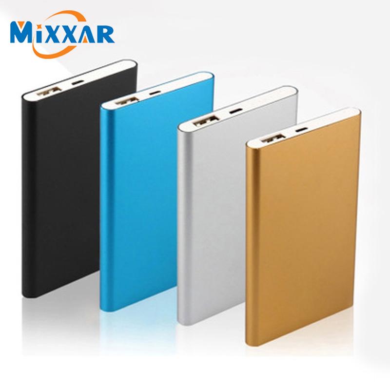 ZK90 Mixxar Metal Slim 7800mAh Power Bank USB External Backup Battery Portable Charger PowerBank For Universal SmartPhone(China (Mainland))