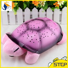 New Creative Turtle LED Night Light Luminous Plush Toys Music Star Lamp Projector Toys for Baby Sleep 4 Colors ST029(China (Mainland))