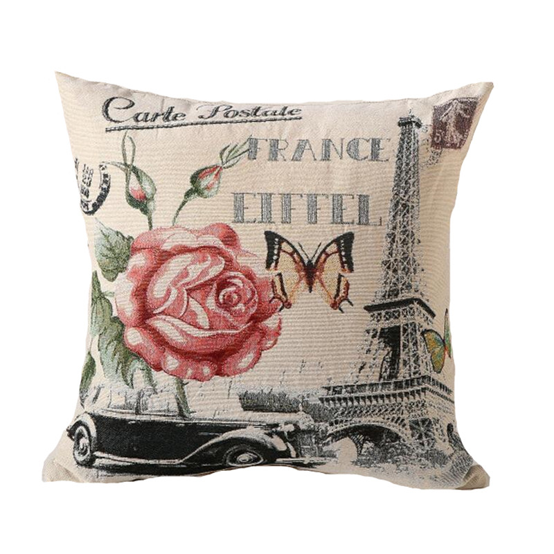 Vintage Style Throw Pillows : Aliexpress.com : Buy RUBI retro style throw pillows without inner decorative cushion on sofa ...