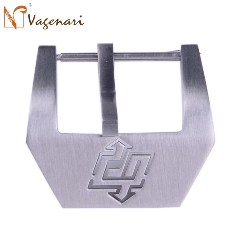 C007 22/24/26mm Stainless Steel Lightning Watch Buckle Brushed Clasp PAM - VAGENARI store
