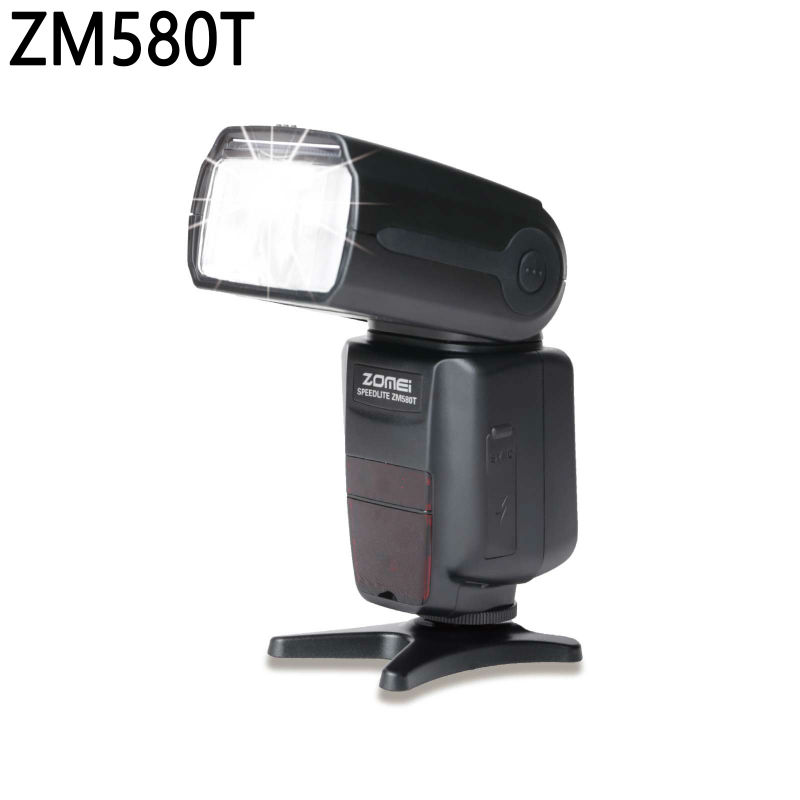 New Design Zomei LCD Flash Speed light ZM580T With TTL/M/Multi Wireless High Speed HSS 1/8000s Free Shipping<br><br>Aliexpress