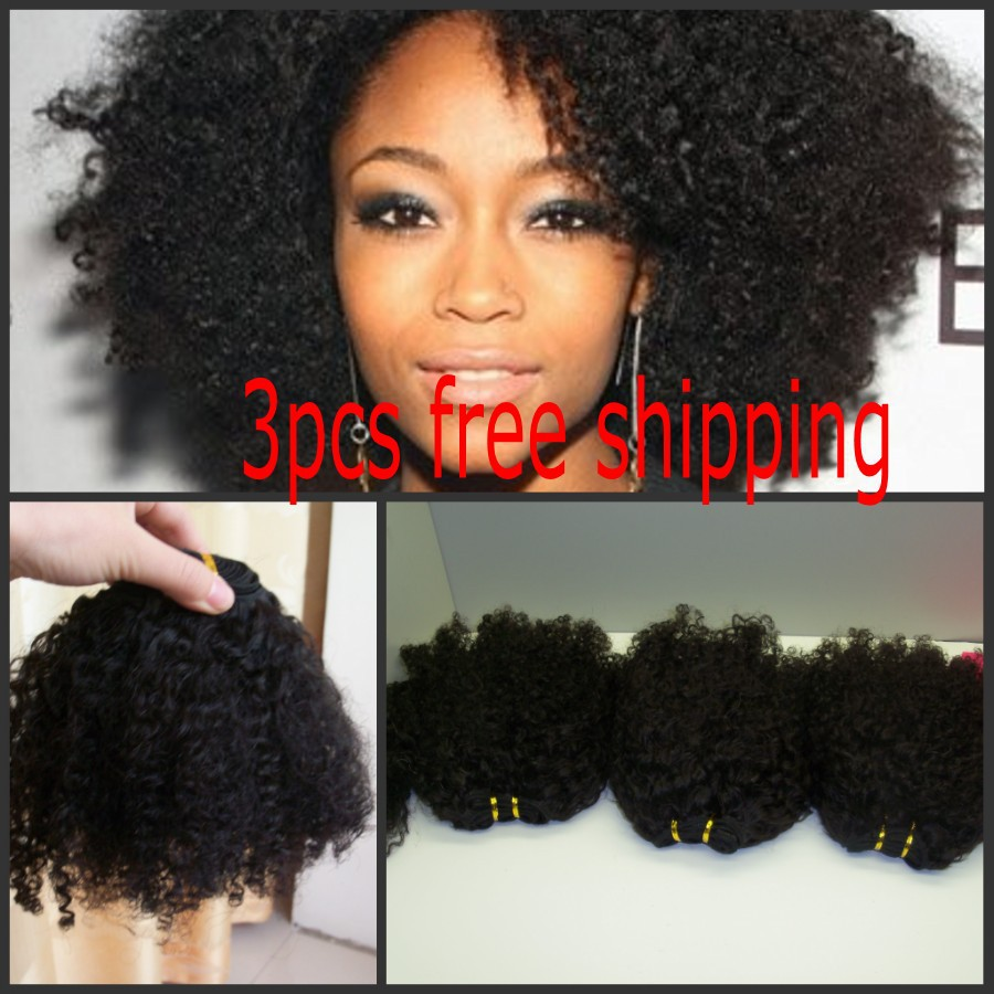 Kinky curly hair extensions styles
