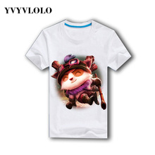 YVYVLOLO Fashion 2016 Men's T-shirts 3D Printed LOL Shirt Mma T-shirt Tee Brand Clothing Man's T-shirt Dress Casual Shirt Homme