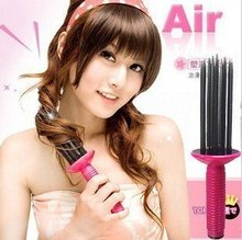 Merry Christmas! Free shipping,Red Volume adjustable comb / hair curler  JHB-116(China (Mainland))