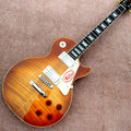 Wholesale Custom shop 1959 R9 Tiger Flame electric guitar Standard LP 59 electric guitar HOT