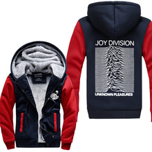 Joy Division Pink Floyd Hoodies Men Unknown Pleasure Post Punk Jacket Rock And Roll Hot Thicken Fleece USAsize Plus size(China (Mainland))