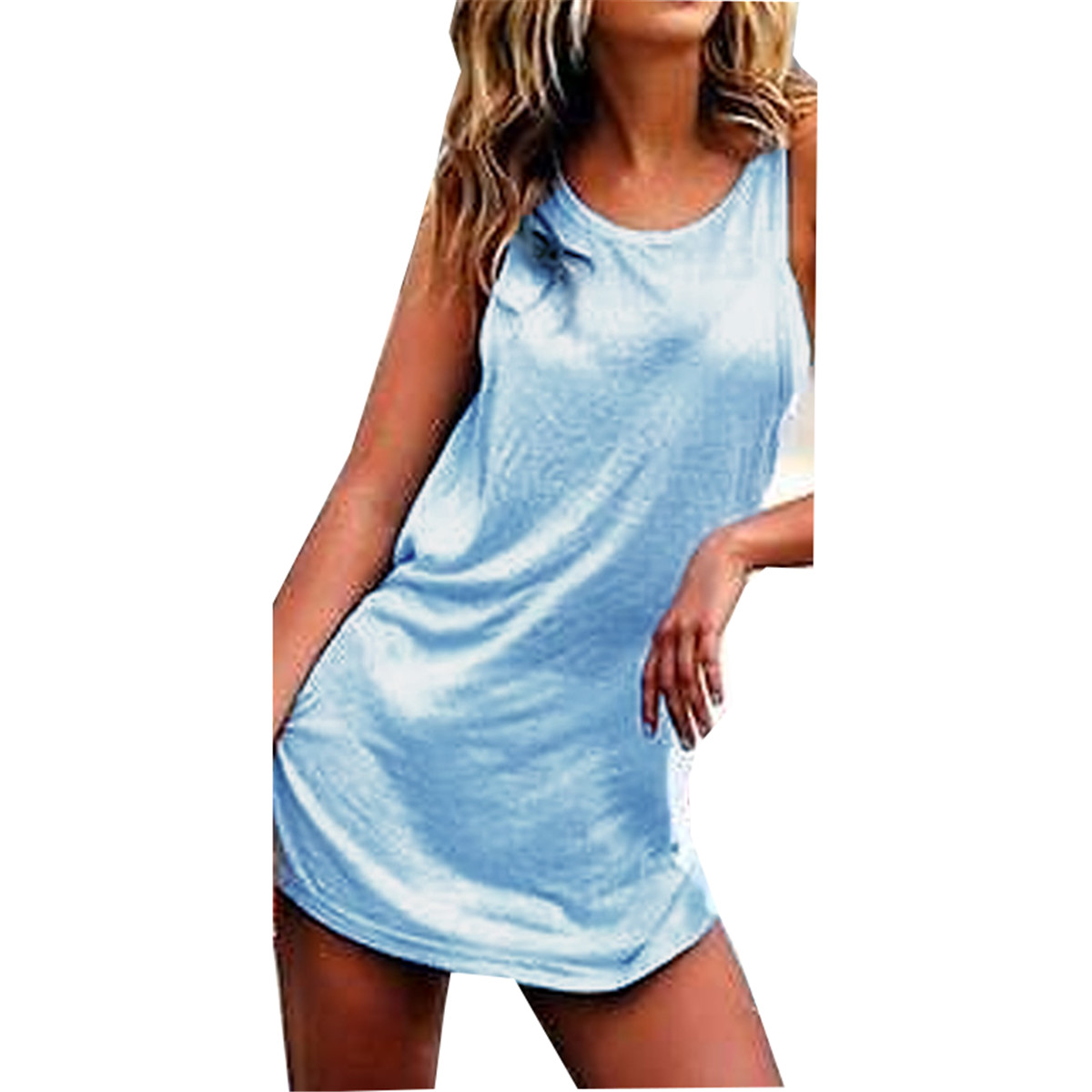 Blusas 2016 Summer Style Women Casual Solid Blouses Tops Sexy Ladies Backless Strapless Shirts Short Mini Vest Dress Plus Size(China (Mainland))