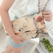 Newest Fashion Personality Women Lady Envelope Graffiti Pattern Handbag Shoulder Purse