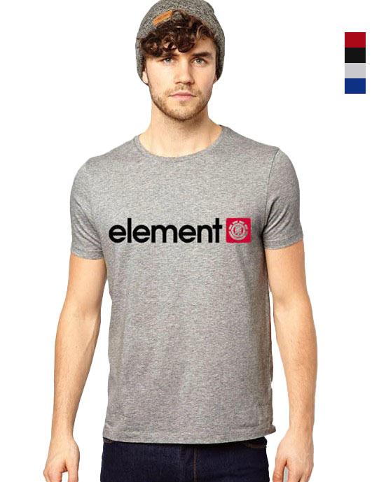 New2015 Arrival Skateboard Element Men T-shirts Men Fashion Skateboard Street Boy Hiphop Hip-hop 100% Cotton Element T Shirt(China (Mainland))
