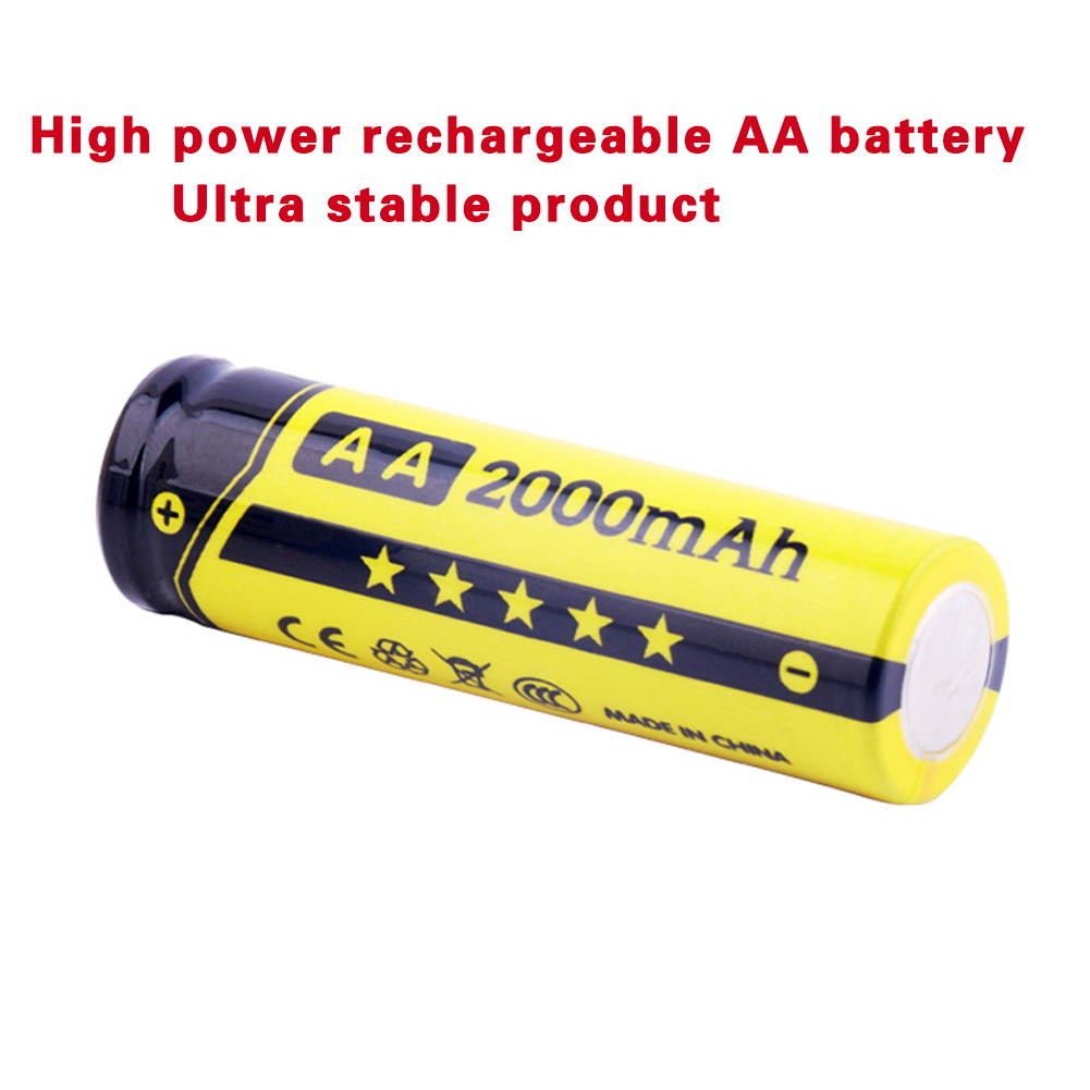 Free Shipping Best Rechargeable Battery AA 2000mAh 20pcs NI-MH 1.2V Rechargeable aa battery rechargeable batteries EE6342(China (Mainland))