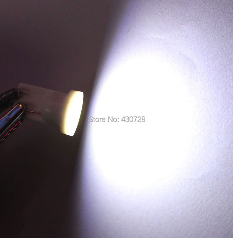 10pcs lot T10 194 168 W5W 6 LED COB Chip Car Door Light Clearance Lights Wholesale