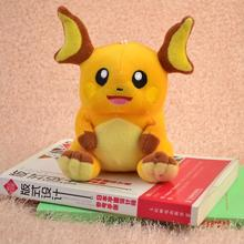 Japanese Anime Cartoon Pokemon Raichu Plush Toy 6″15CM Pocket Monster Game Soft Stuffed Animals Plush Doll for Children Gift