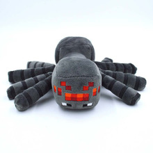 New Arrival Minecraft Plush Toys 16CM Gray Minecraft Spider Stuffed Plush Toys Kids Game Cartoon Toys brinquedos Gift(China (Mainland))