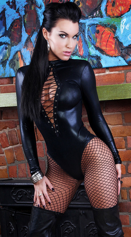 Black Sexy Faux Leather Catsuit Latex Bodysuit Sexy Teddy Lingerie Fetish Wear Erotic Leotard Costumes for Women Plus Size M XL(China (Mainland))