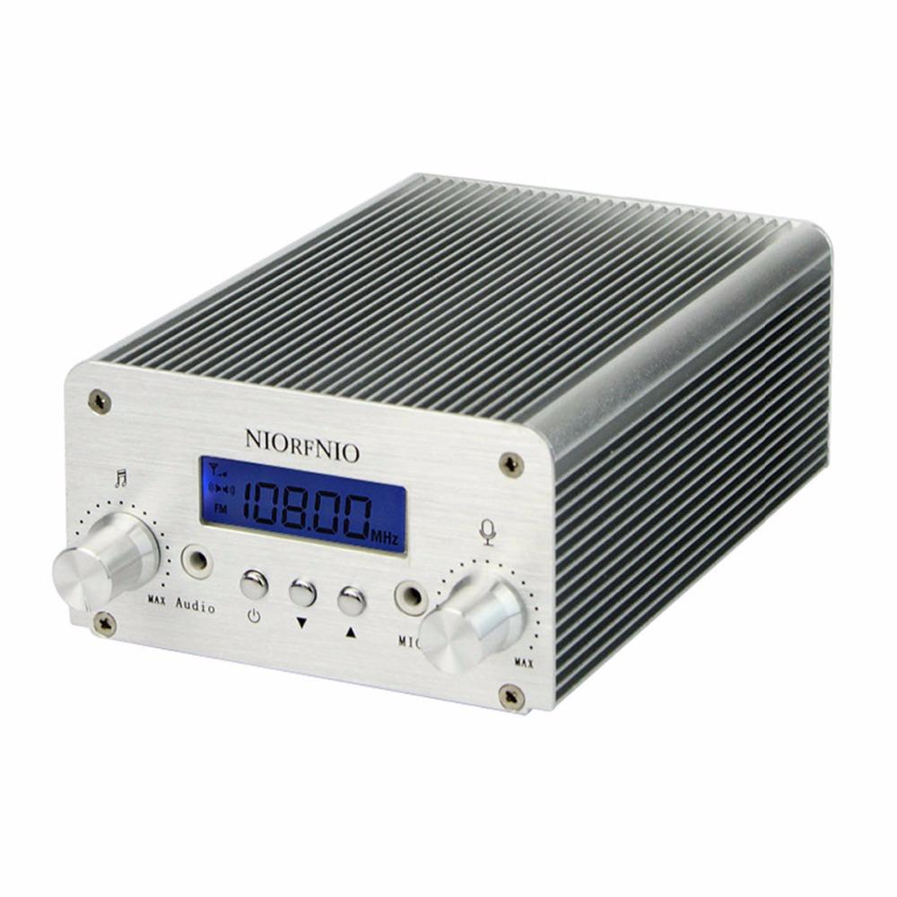 5W / 15W PLL FM Transmitter Mini Radio Stereo Station Bluetooth Wireless Broadcast only host(China (Mainland))