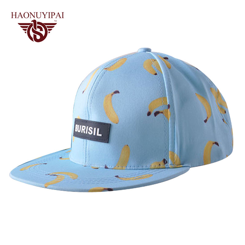 New Summer Hats For women Fruit Snapback Banana Pink Blue White Cap Outdoor Travel Sun Hat Party Decoration Gift Bonnet Gorras(China (Mainland))