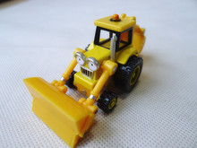 Learning Curve Bob The Builder Metal Diecast Scoop Toy Car New Loose(China (Mainland))