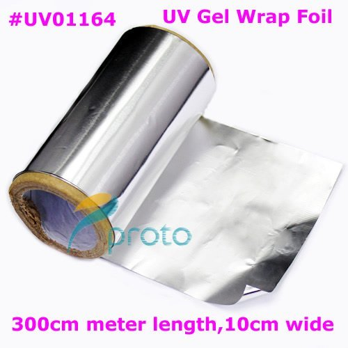 New  Aluminum Foil for Nail Remover UV Gel Nail Wraps Especial For Soak Off UV Gel Remove Dropshipping [retail] SKU:F0093