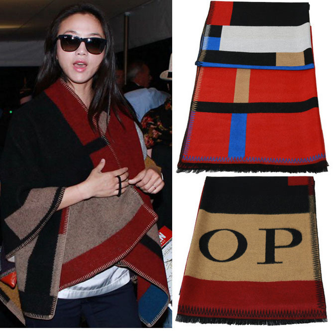 Wholesale New 2015 women's scarves wraps famous brands Desigual scarf fashion 100 % Cashmere scarf Size 180*115cm Free delivery(China (Mainland))