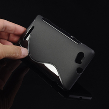 Buy Soft S-Line Wave Anti-skid TPU Gel Case Skin Sony Xperia M C1904 C1905 C2004 C2005 Smartphone Protective Rubber Matte Cover for $1.39 in AliExpress store