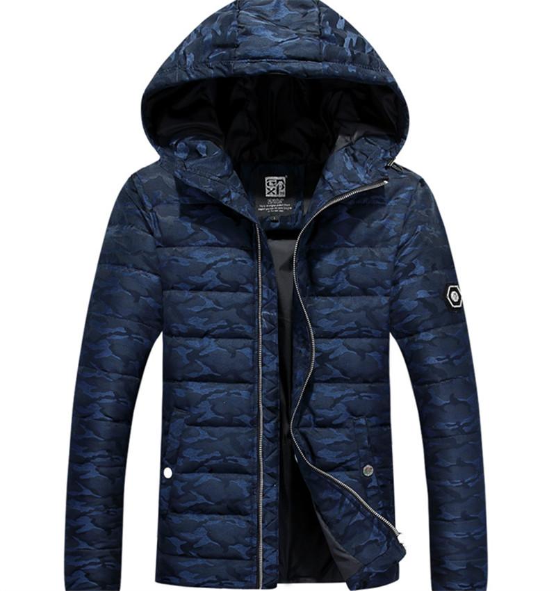 New Men Winter Coat Fashion Men s Army Down Slim Youth Military Jackets Stunden Napapijri Warm