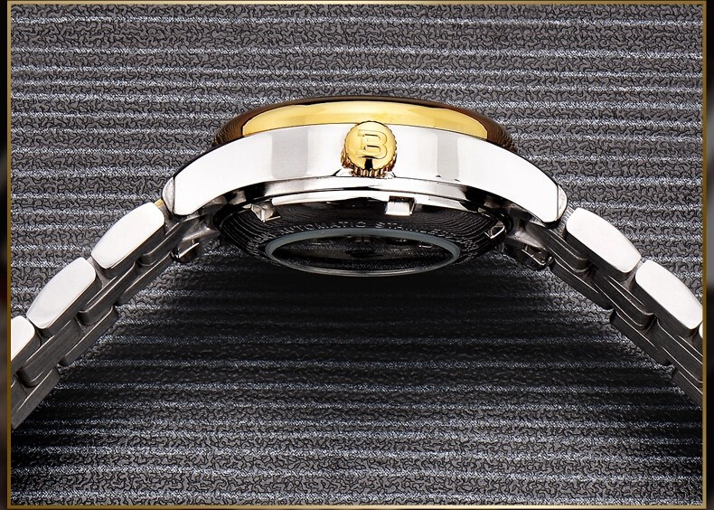 2016 Новый Швейцария Мода Бингер Женева Смотреть Золотой Браслет Женские Часы Женщины Платье Часы Модные Наручные Часы Груза падения