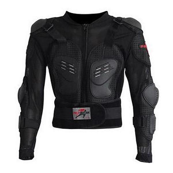Hot Sale Fashion New PRO-BIKER Outdoor Racing Motorcycle Jacket Full Body Armor Black Motocross Protective Gear Jackets M-XXXL(China (Mainland))