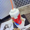 women bag 2015 new fashion casual lady messenger bag print fun coke bottles straw creative hit