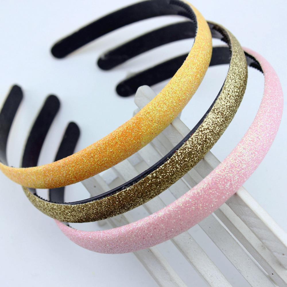 2 pcs women solid fashion headband girl's head bands hair plastic band hair accessories(China (Mainland))