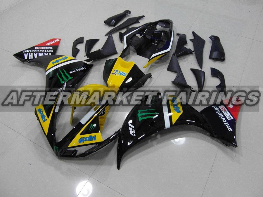 Advanced ABS raw material 2011 YZF R1 Fairings for Yamaha Bike with free shipping