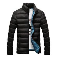 Hot 2016 Stylish Winter Ultra Light Duck Down Jacket Men Long Punk New Brand Slim Fit Mens Jackets And Coats Parka Casual 3XL(China (Mainland))