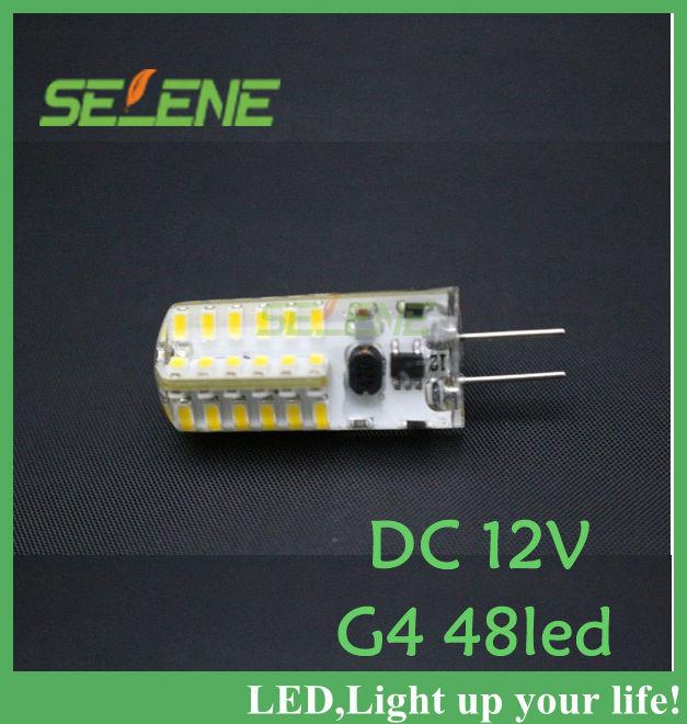 Гаджет  5pcs/lot Ultra Brightness Cree G4 5W LED Spot Light Lamp LED Bulb Ball 3014SMD 12V DC 48leds warranty 2 years Free shipping None Свет и освещение