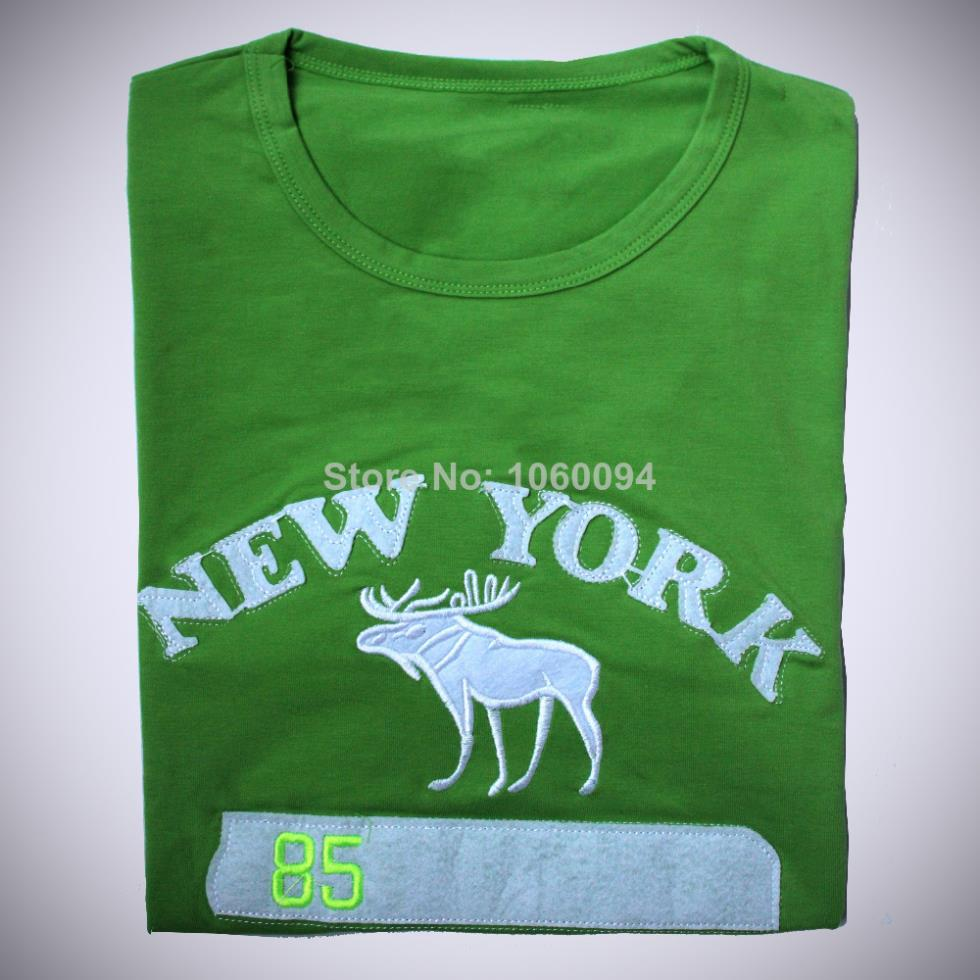 Free Shipping 2016 New Summer Short Sleeve Tops & Tees Men O-Neck T-Shirt Male Brand Amerindian Deer Printed Causal T Shirt(China (Mainland))