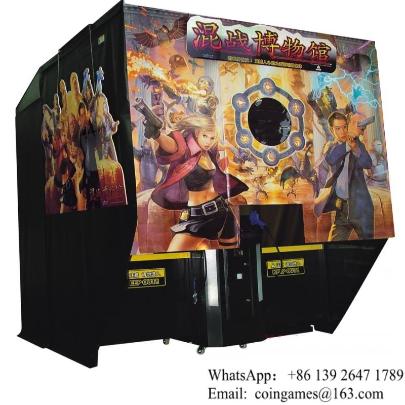 Selling Haunted Museum Simulator Shooting Gun Arcade Game Machine(China (Mainland))