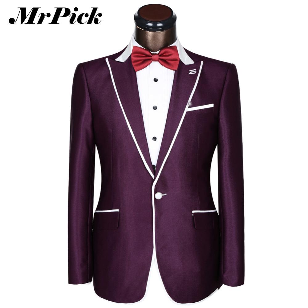 Buy Jacket Pants Costume Homme Formal Business Suits Bridegroom 2016 Spring