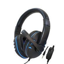 Wired Gaming Earphone for Sony Playstation PS 4 Game Controller with Mic/ Volume Control for Dualshock 4 Headset PS4 Headset