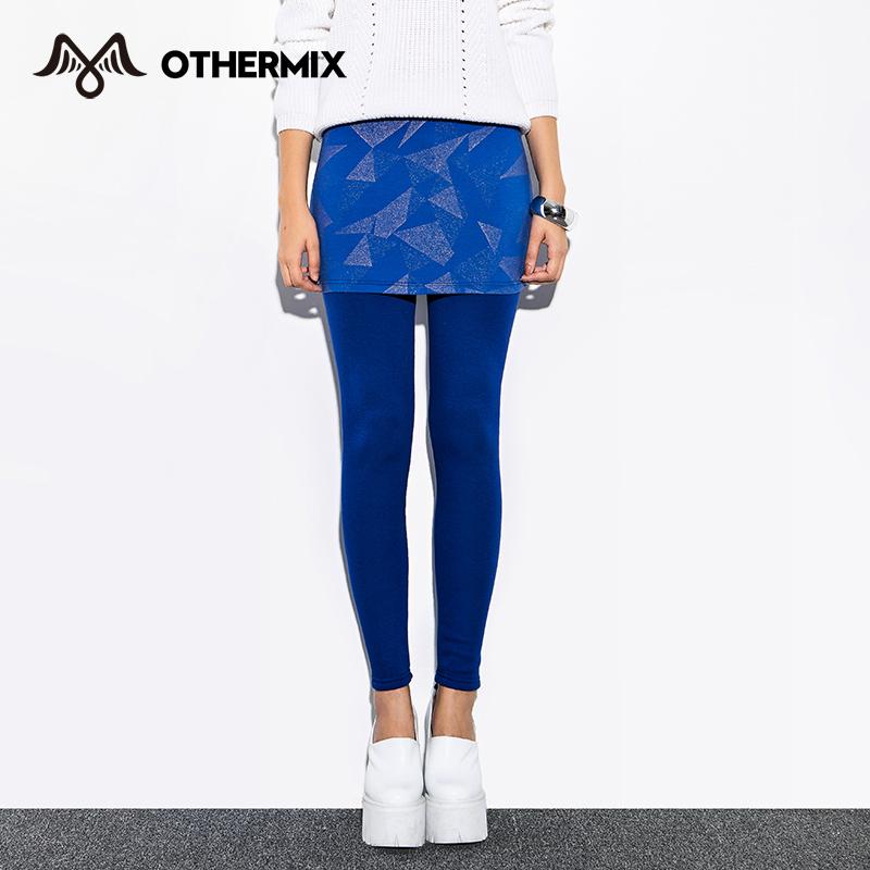 [해외]OTHERMIX 2015 새로운 여성 레깅스 기하학적 브론 징 피트..