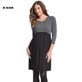 Brand Maternity Clothes Plus Size Maternity Dress High Quality Pregnant Women Evening Party Dress Elegant Summer