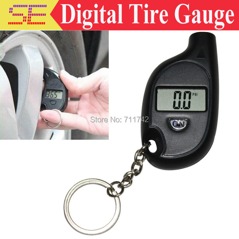 Durable 3-150 psi Mini Digital Car Auto Tire Air Pressure Gauge Tester Motorcycle Tyre Meter , LCD display(China (Mainland))