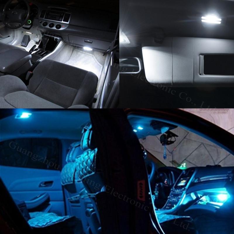 11x Led Light Lamp Dome Interior Bulb Car Interior Lighting Kit For Volkswagen Vw Golf 6 Vi Gti