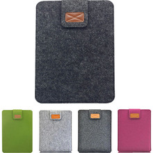 Wholesale computer bag For Apple Macbook pro 13'' woolen felt Laptop protector cover For Chromebooks macbook air 11 13 15 inch(China (Mainland))