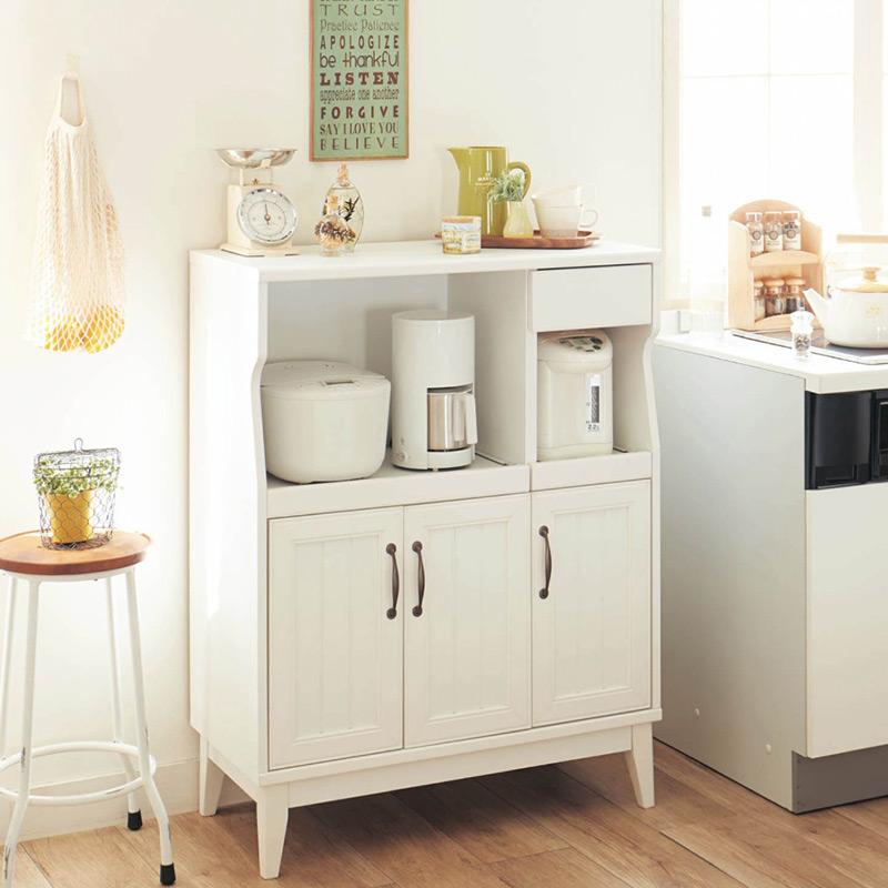 De veelzijdiger mao dressoir kast keuken eenvoudige magnetron opslag kast kasten kast keuken - Dressoir originele keuken ...