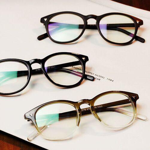 Prescription eyeglass frames vintage