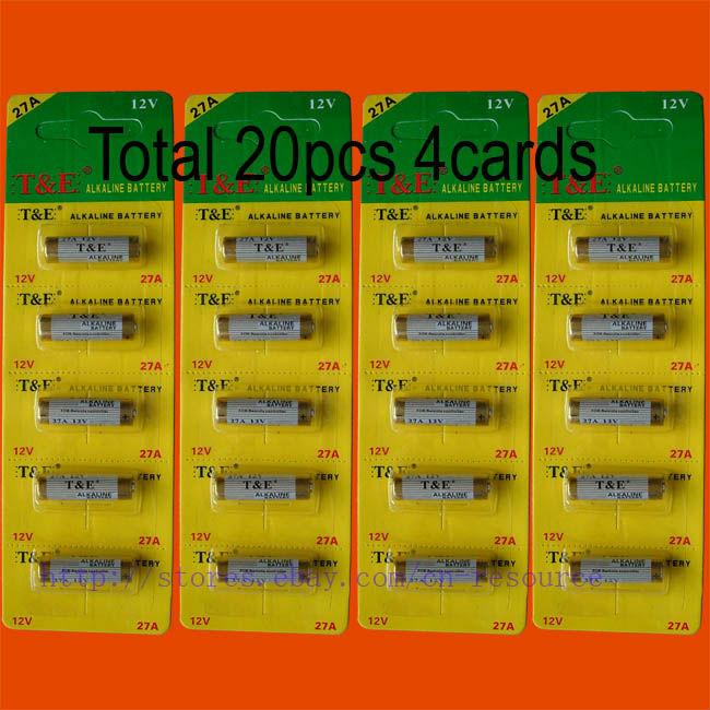 20 x 27A MN27 12V Alkaline Battery<br><br>Aliexpress